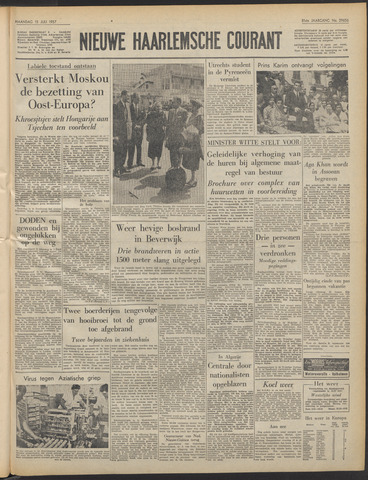 Nieuwe Haarlemsche Courant 1957-07-15