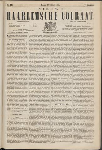 Nieuwe Haarlemsche Courant 1882-10-29