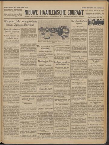 Nieuwe Haarlemsche Courant 1940-08-27