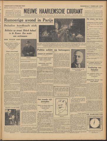 Nieuwe Haarlemsche Courant 1934-02-07