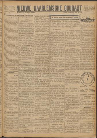 Nieuwe Haarlemsche Courant 1923-04-18