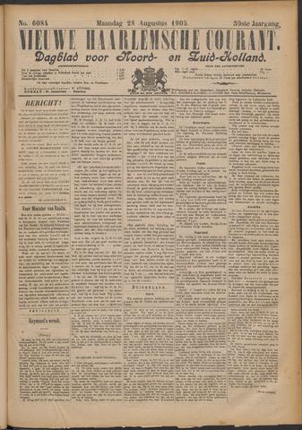 Nieuwe Haarlemsche Courant 1905-08-28