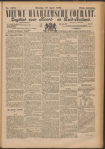 Nieuwe Haarlemsche Courant 1906-04-10