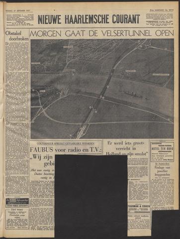 Nieuwe Haarlemsche Courant 1957-09-27
