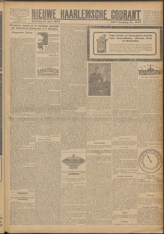 Nieuwe Haarlemsche Courant 1923-04-14