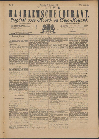 Nieuwe Haarlemsche Courant 1897-02-24