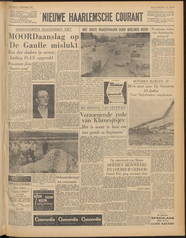 Nieuwe Haarlemsche Courant 1961-09-11