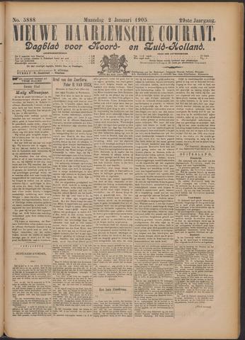 Nieuwe Haarlemsche Courant 1905