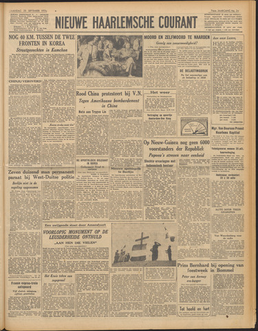Nieuwe Haarlemsche Courant 1950-09-25
