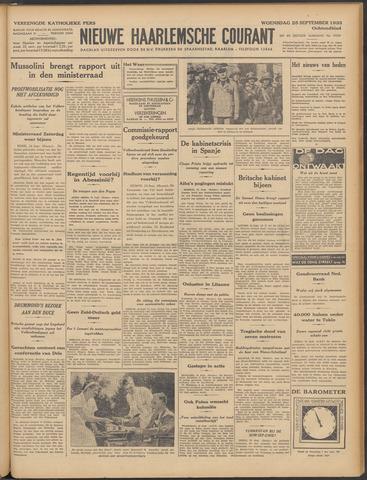 Nieuwe Haarlemsche Courant 1935-09-25