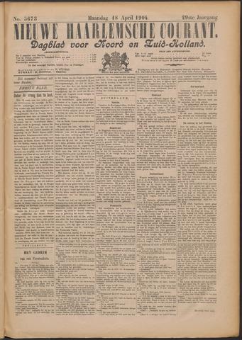 Nieuwe Haarlemsche Courant 1904-04-18