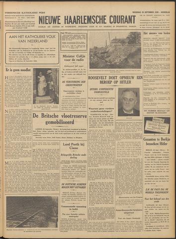 Nieuwe Haarlemsche Courant 1938-09-28
