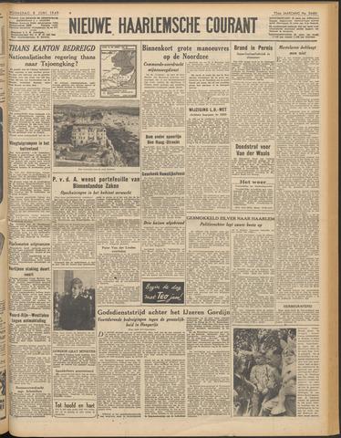 Nieuwe Haarlemsche Courant 1949-06-08