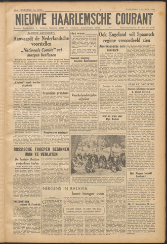 Nieuwe Haarlemsche Courant 1946-03-02