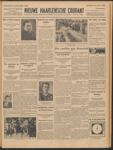 Nieuwe Haarlemsche Courant 1935-07-27