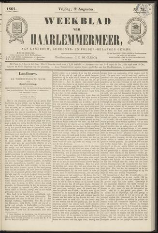Weekblad van Haarlemmermeer 1861-08-02
