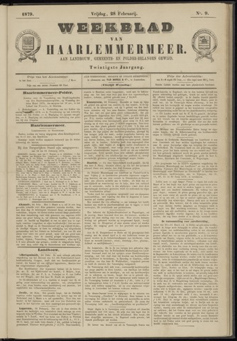 Weekblad van Haarlemmermeer 1879-02-28