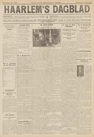 Haarlem's Dagblad 1926-01-13
