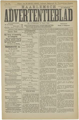 Haarlemsch Advertentieblad 1900-04-21