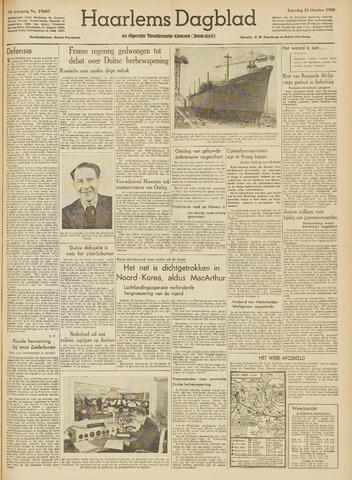 Haarlem's Dagblad 1950-10-21