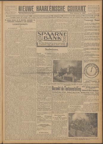 Nieuwe Haarlemsche Courant 1927-08-20