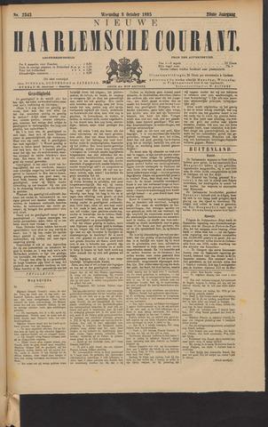 Nieuwe Haarlemsche Courant 1895-10-09