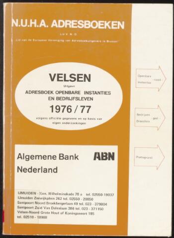 Adresboeken Velsen 1976