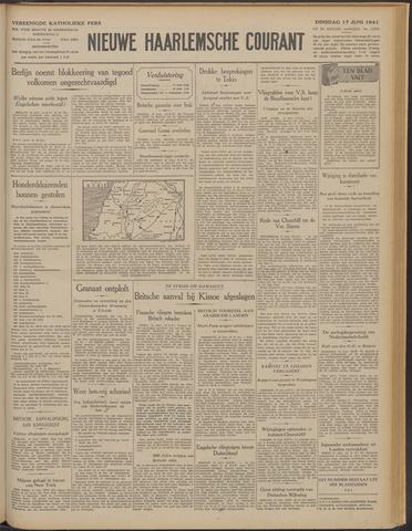 Nieuwe Haarlemsche Courant 1941-06-17