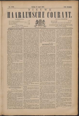 Nieuwe Haarlemsche Courant 1887-04-24