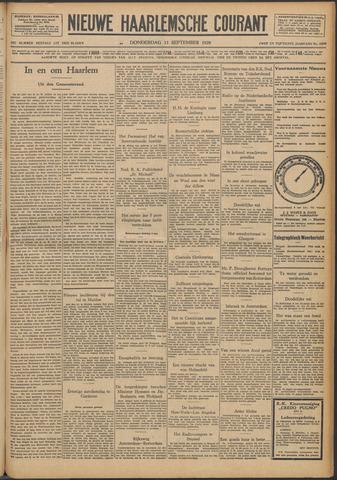 Nieuwe Haarlemsche Courant 1928-09-13