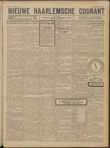 Nieuwe Haarlemsche Courant 1922-04-11