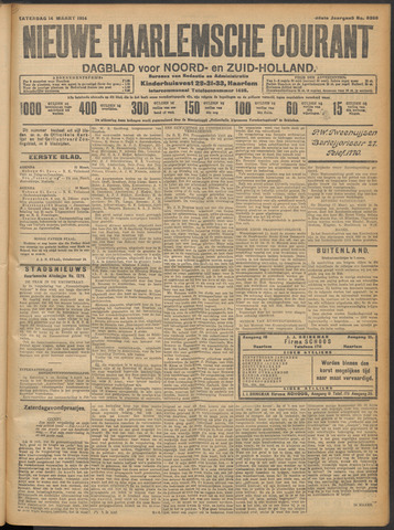 Nieuwe Haarlemsche Courant 1914-03-14