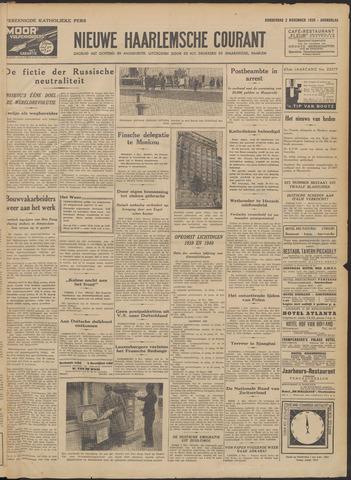Nieuwe Haarlemsche Courant 1939-11-02