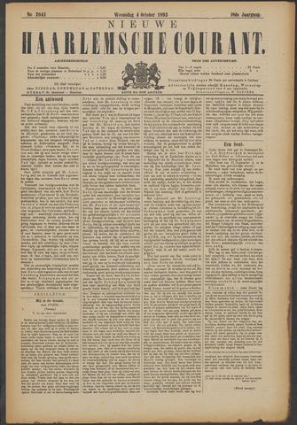 Nieuwe Haarlemsche Courant 1893-10-04