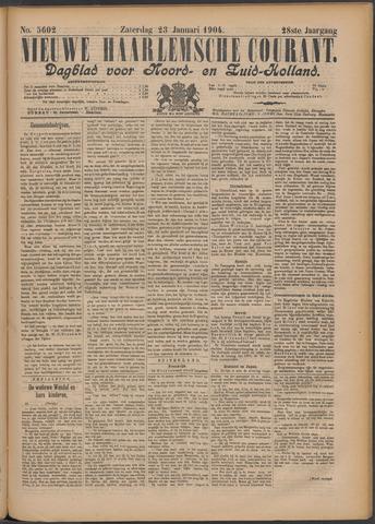 Nieuwe Haarlemsche Courant 1904-01-23