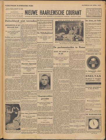 Nieuwe Haarlemsche Courant 1933-04-29