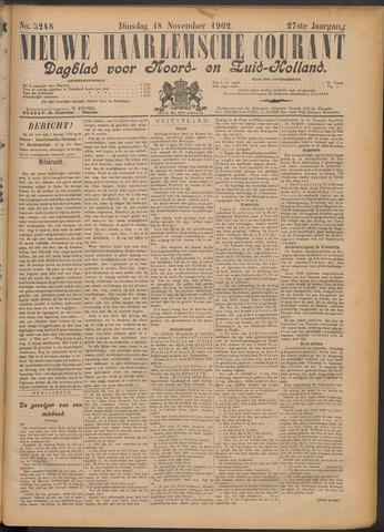 Nieuwe Haarlemsche Courant 1902-11-18