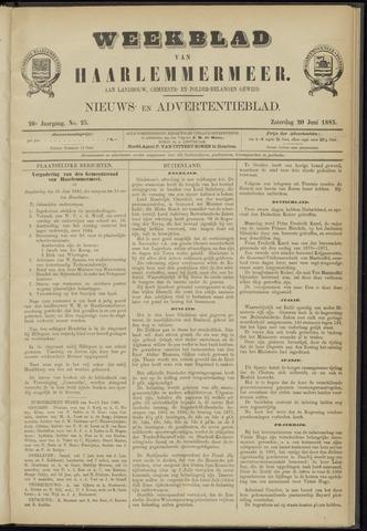 Weekblad van Haarlemmermeer 1885-06-20