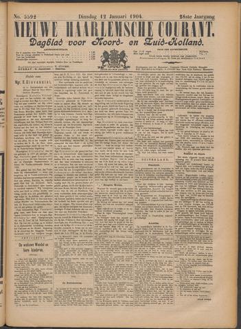 Nieuwe Haarlemsche Courant 1904-01-12