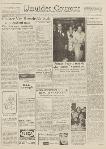 IJmuider Courant 1959-09-03