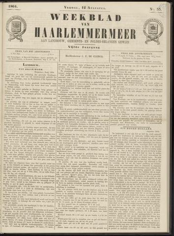 Weekblad van Haarlemmermeer 1864-08-12