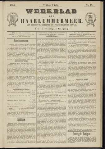 Weekblad van Haarlemmermeer 1880-07-09