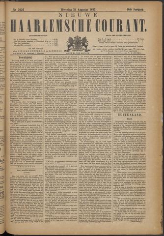 Nieuwe Haarlemsche Courant 1893-08-30