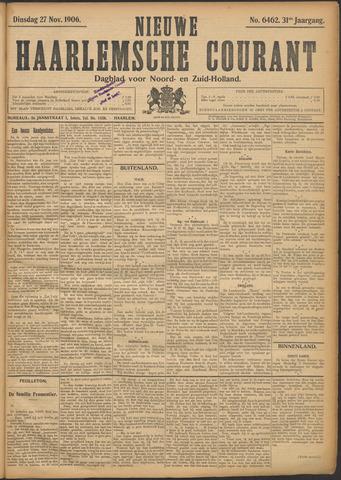 Nieuwe Haarlemsche Courant 1906-11-27