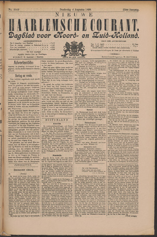 Nieuwe Haarlemsche Courant 1898-08-04