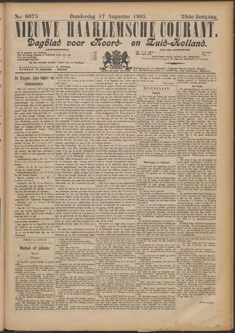 Nieuwe Haarlemsche Courant 1905-08-17
