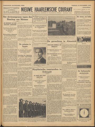 Nieuwe Haarlemsche Courant 1935-11-15