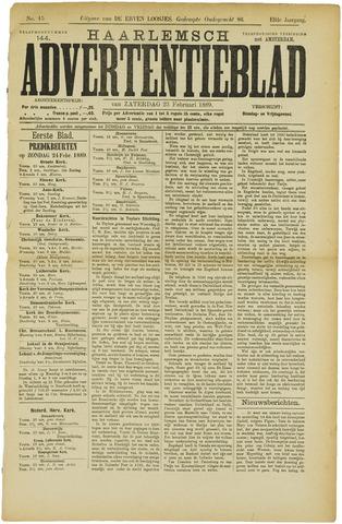 Haarlemsch Advertentieblad 1889-02-23