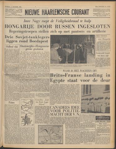 Nieuwe Haarlemsche Courant 1956-11-03