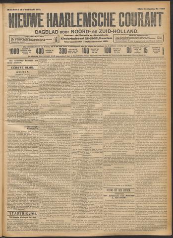 Nieuwe Haarlemsche Courant 1912-02-19